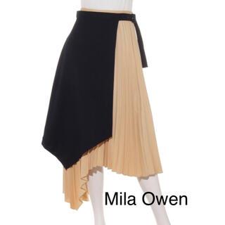Mila Owen - Mila Owen レイヤードプリーツスカート