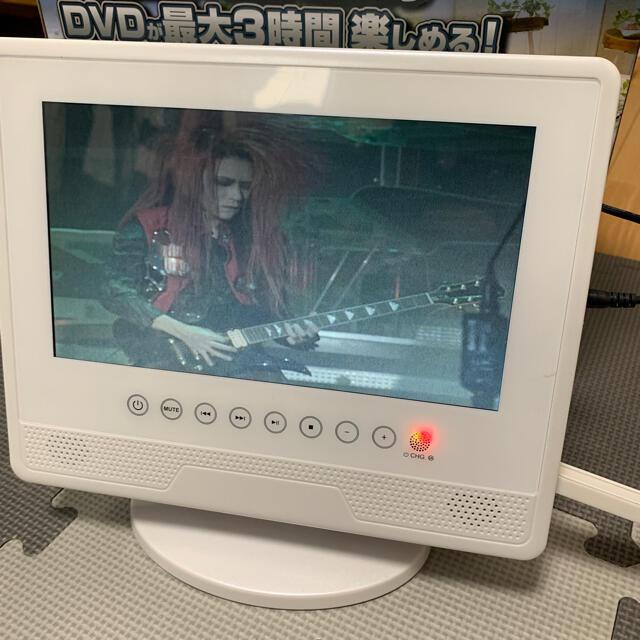 9インチ防水ポータブルDVDプレイヤー スマホ/家電/カメラのテレビ/映像機器(DVDプレーヤー)の商品写真