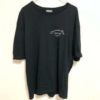 クリスチャンディオール(Christian Dior)のChristian Dior atelier tシャツ 黒 L(Tシャツ/カットソー(半袖/袖なし))