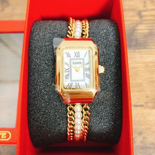 アビステ(ABISTE)の新品 JAL限定 アビステ ブレスレットウォッチ 時計(腕時計)