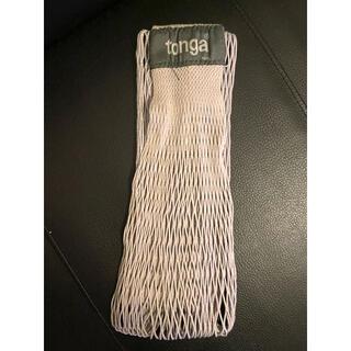 tonga - 抱っこ紐 tonga グレー コンパクト 中古品 スリング