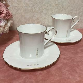 ジバンシィ(GIVENCHY)のジバンシー コーヒーカップ ペアカップ2客(グラス/カップ)