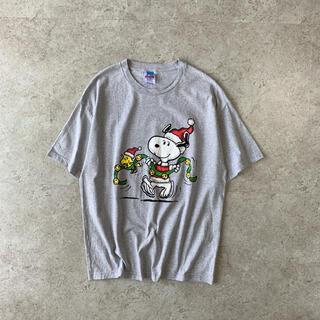 ピーナッツ(PEANUTS)のPEANUTS USA製 ビンテージ プリントTシャツ ピーナッツ AAA(Tシャツ/カットソー(半袖/袖なし))