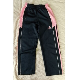 アディダス(adidas)の【着用感少なめ】140センチ  女の子  adidas ジャージズボン  (パンツ/スパッツ)