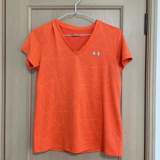UNDER ARMOUR - アンダーアーマー レディース オレンジ トレーニングTシャツ
