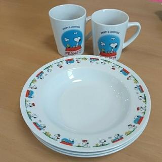 SNOOPY - SNOOPYのお皿&マグカップ