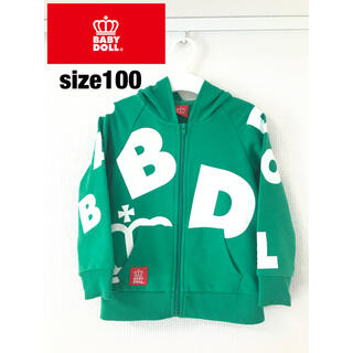 BABYDOLL - ベビードール パーカー 100