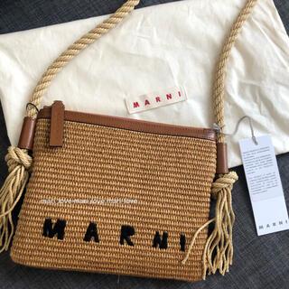Marni - MARNI マルニ ラフィラショルダーバッグ