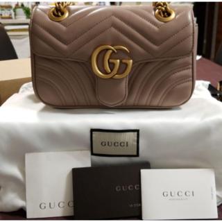 Gucci - gucci ggマーモントショルダーバッグ