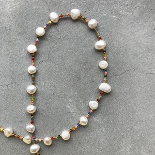 トゥデイフル(TODAYFUL)のhandmade necklace 066(ネックレス)