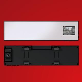 ユピテル(Yupiteru)のユピテル ミラー型ドライブレコーダー DRY-FH230M (セキュリティ)