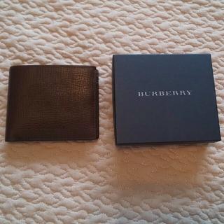 バーバリー(BURBERRY)の★未使用★ BURBERRY メンズ 2つ折り財布(折り財布)