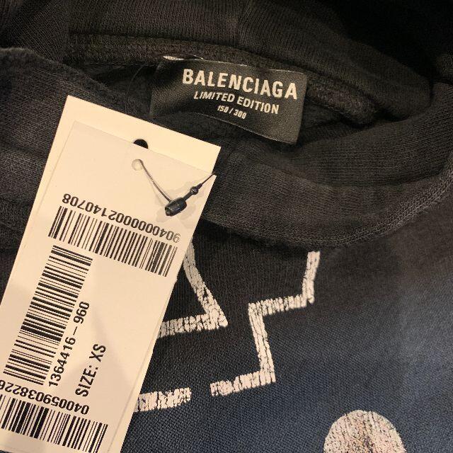 Balenciaga(バレンシアガ)の世界限定300着 バレンシアガ ラムシュタイン パーカー メンズのトップス(パーカー)の商品写真