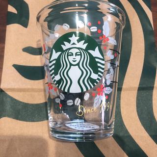 Starbucks Coffee - スタバ コレクタブルコールドカップグラスコーヒーチェリー414ml