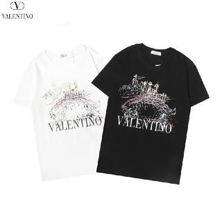 ヴァレンティノ(VALENTINO)の★8000円2枚ヴァレンティノVALENTINOTシャツ#HHS041504(Tシャツ/カットソー(半袖/袖なし))