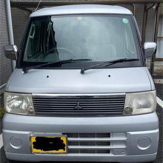 ミツビシ(三菱)のタウンボックス 三菱 マニュアル車 4駆切り替え可能(車体)