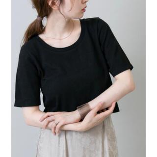 Kastane - ★【新品】カスタネ ストレッチチビTEE Tシャツ ブラック
