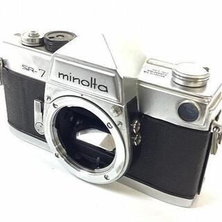 コニカミノルタ(KONICA MINOLTA)のミノルタ SR-7 フィルム一眼レフカメラ(フィルムカメラ)
