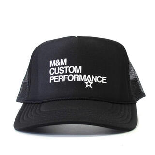 エムアンドエム(M&M)のM&M m&m custom performance キャップ(キャップ)