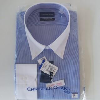 アオヤマ(青山)の新品未使用 ボタンダウン 長袖ワイシャツ 4L(シャツ)