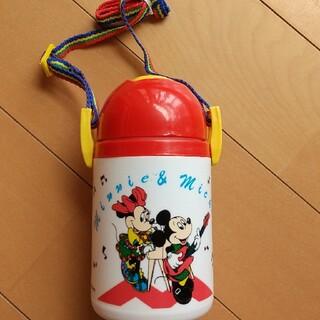 ディズニー レトロ ストロー付き水筒