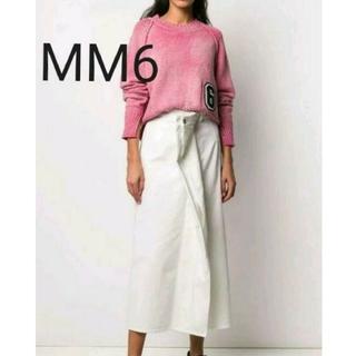 エムエムシックス(MM6)のへっちゃん様専用【新品】MM6 マルチウェアデニムスカート 36(ロングスカート)