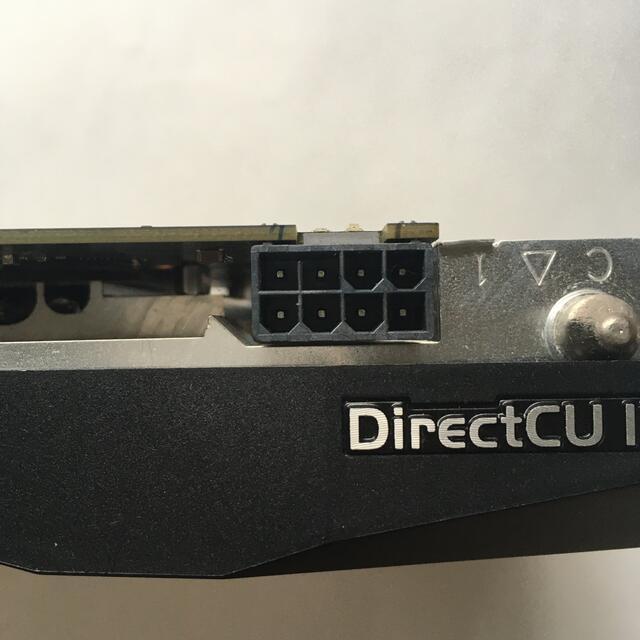 ASUS(エイスース)のASUS製グラフィックボード GTX760 メモリ2G 中古 スマホ/家電/カメラのPC/タブレット(PCパーツ)の商品写真
