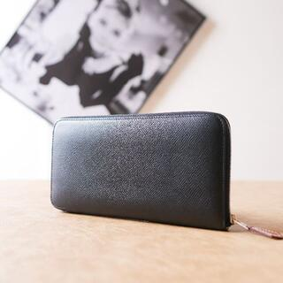 Hermes - ♡展示品級♡アザップロングシルクイン エルメス ブラック 長財布