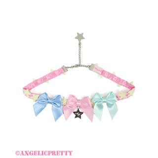 アンジェリックプリティー(Angelic Pretty)のangelic pretty カラフルStarチョーカー(ネックレス)