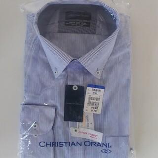 アオヤマ(青山)の新品未使用 メンズボタンダウン 長袖ワイシャツ LL(シャツ)
