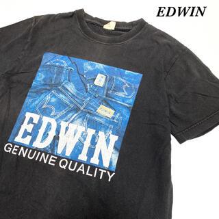 エドウィン(EDWIN)のメンズ レディース Tシャツ edwin エドウィン プリント vintage(Tシャツ/カットソー(半袖/袖なし))