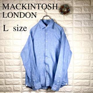 マッキントッシュ(MACKINTOSH)のMACKINTOSH LONDON マッキントッシュ 長袖シャツ リネン 麻(シャツ)