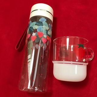 アフタヌーンティー(AfternoonTea)の『専用品』アフタヌーンティー ♡イチゴ♡ スクリューボトル&マグカップ(グラス/カップ)