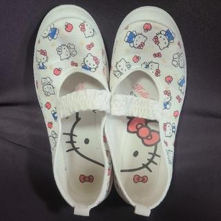 アサヒシューズ(アサヒシューズ)のハローキティ上靴 19㎝(スクールシューズ/上履き)