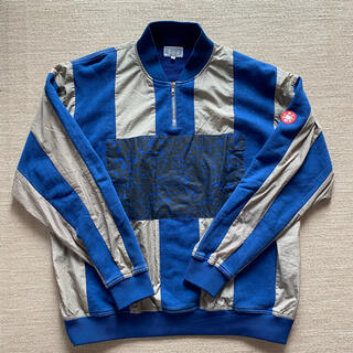 cavempt stripe half zip pullover