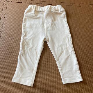 アカチャンホンポ(アカチャンホンポ)のアカチャンホンポ シンプルフリー オフホワイト パンツ サイズ80(パンツ)