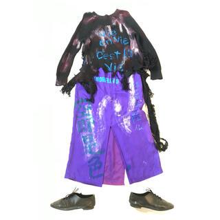 ヴィヴィアンウエストウッド(Vivienne Westwood)のGETEMONTS 色即是空 空即是色 シルクスカートのコーデ(ロングスカート)