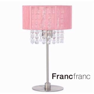 フランフラン(Francfranc)の新品/未使用 Francfranc フランフラン シャンデリア 卓上 テーブル(テーブルスタンド)