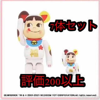 MEDICOM TOY - BE@RBRICK 招き猫 ペコちゃん 福 100% & 400%