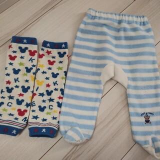 ニシマツヤ(西松屋)の60 足付ズボン(パンツ)