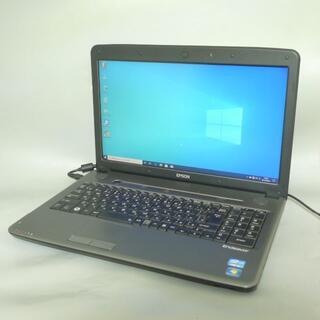 エプソン(EPSON)の15.6型 EPSON NJ5700E Core i5 8GB 320G(ノートPC)