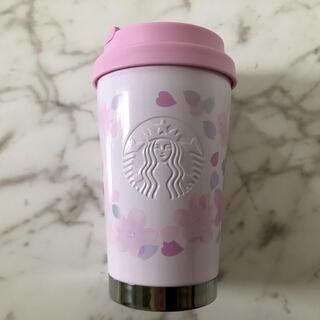 Starbucks Coffee - 新品 スターバックス SAKURA   ステンレス ロゴタンブラー 355ml