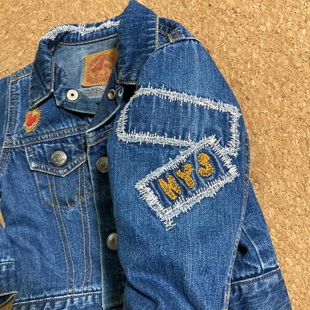 HYSTERIC MINI(ヒステリックミニ)のHYSTERIC MINI ジージャン キッズ/ベビー/マタニティのキッズ服男の子用(90cm~)(ジャケット/上着)の商品写真