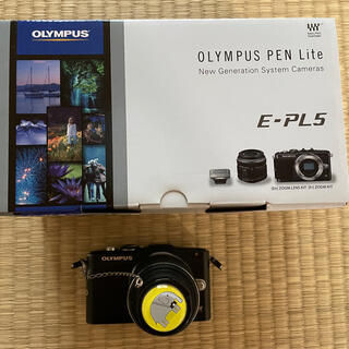 オリンパス(OLYMPUS)のミラーレス一眼 OLYMPUS PEN Lite E-PL5(ミラーレス一眼)