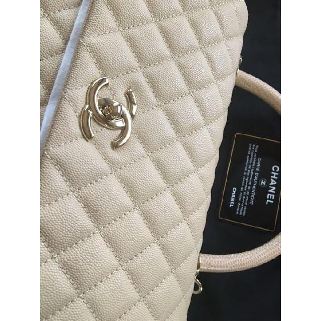 CHANEL(シャネル)のCHANEL シャネル ココハンドル 超美品 ミディアムサイズ レディースのバッグ(ハンドバッグ)の商品写真