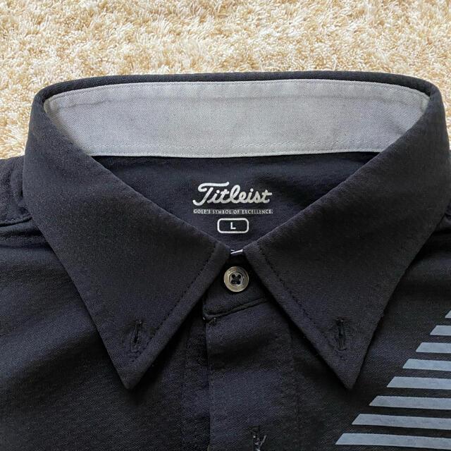 Titleist(タイトリスト)のタイトリスト  L  ポロシャツ スポーツ/アウトドアのゴルフ(ウエア)の商品写真