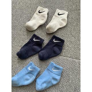 ナイキ(NIKE)の中古 NIKE ナイキ 子供 靴下 ベビー キッズ(靴下/タイツ)