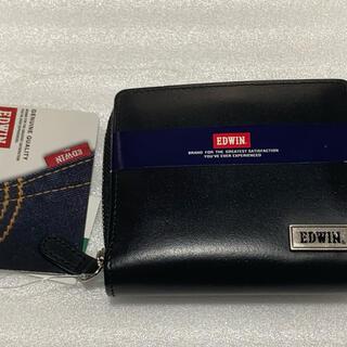 エドウィン(EDWIN)の新品  EDWIN 牛革 二つ折り財布(折り財布)