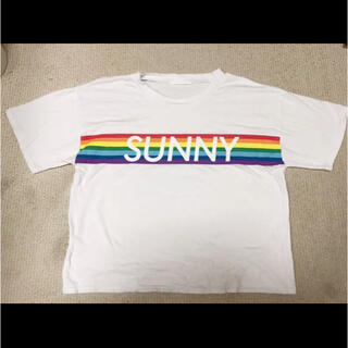 スピンズ(SPINNS)のスピンズ Tシャツ 白(Tシャツ(半袖/袖なし))