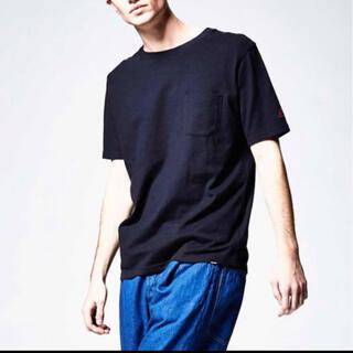 ジョンブル(JOHNBULL)の◇新品◇ ジョンブル ポケットtシャツ ネイビー(Tシャツ/カットソー(半袖/袖なし))